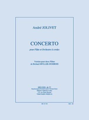 Jolivet André / Müller-Dombois Richard - Concerto pour flûte - 2 Flûtes - Partition - di-arezzo.fr