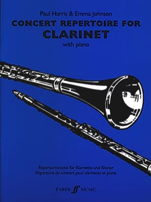 Harris Paul / Johnson Emma - Concert repertoire for clarinet - Sheet Music - di-arezzo.com