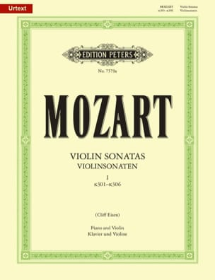 MOZART - Violin Sonatas, Volume 1 KV 301-306 - Sheet Music - di-arezzo.co.uk