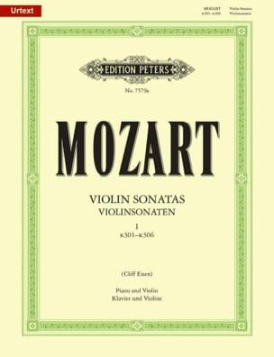Wolfgang Amadeus Mozart - Violin Sonatas, Volume 1 (KV 301-306) - Partition - di-arezzo.fr