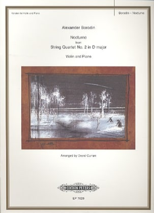 Nocturne - Violin Alexandre Borodine Partition Violon - laflutedepan