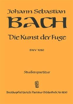 Johann Sebastian Bach - Die Kunst Der Fuge BWV 1080 - Partition - di-arezzo.fr