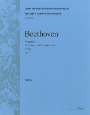 BEETHOVEN - Konzert for Klavier Nr. 3 c-moll op. 37 - Partitur - Sheet Music - di-arezzo.co.uk