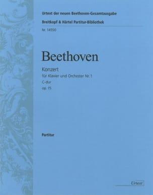 Ludwig van Beethoven - Klavierkonzert Nr. 1 C-Dur - Partitur - Partition - di-arezzo.fr