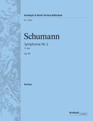 Symphonie N° 2 en Do Maj. Op. 61 SCHUMANN Partition laflutedepan