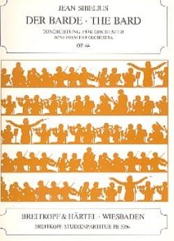 Le Barde Op.64 - Jean Sibelius - Partition - laflutedepan.com