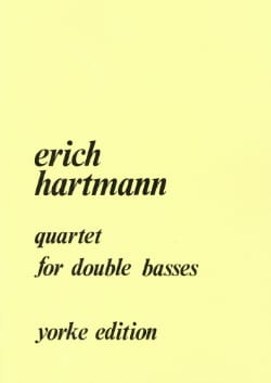 Quartet for double basses Erich Hartmann Partition laflutedepan