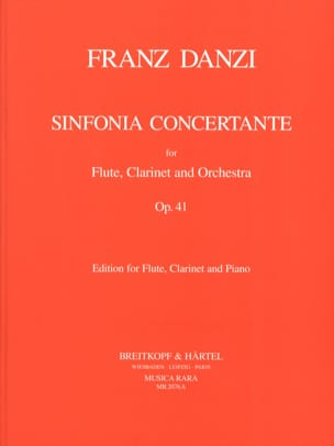 Sinfonia concertante op. 41 -Flute clarinet piano laflutedepan