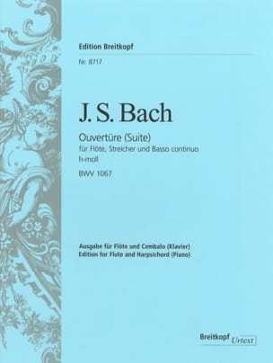 BACH - Suite N ° 2 In Minor Si - BWV 1067 - Sheet Music - di-arezzo.co.uk