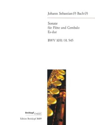 Sonate Es-Dur BWV 1031 – Flöte Cembalo - laflutedepan.com