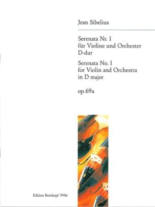 Serenata n°1, D-dur op. 69a - Jean Sibelius - laflutedepan.com