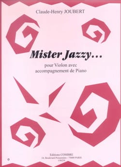 Claude-Henry Joubert - Mister Jazzy... - Partition - di-arezzo.fr