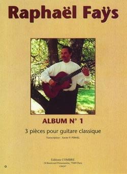 Raphael Faÿs - Album N°1 - Partition - di-arezzo.fr