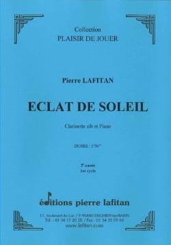 Eclat de soleil - Pierre Lafitan - Partition - laflutedepan.com