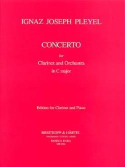 Concerto en Do Majeur Ignaz Pleyel Partition Clarinette - laflutedepan