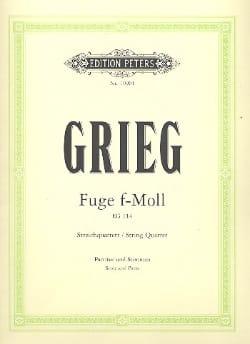 Edvard Grieg - Fuge in f-moll -Streichquartett - Partitur + Stimmen - Partition - di-arezzo.fr