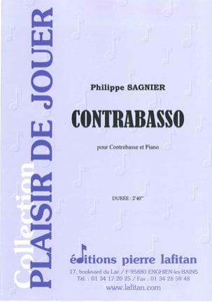 Contrabasso - Philippe Sagnier - Partition - laflutedepan.com