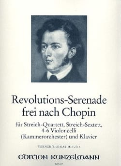 Chopin Frédéric / Thomas-Mifune Werner - Revoluciones-Frei nach Serenata Chopin - Streich-Sextett - Klavier - Partitura - di-arezzo.es