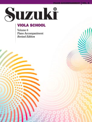 Viola School Volume 6 - Piano Accompaniments SUZUKI laflutedepan