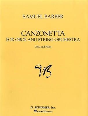 Canzonetta - Oboe piano Samuel Barber Partition laflutedepan