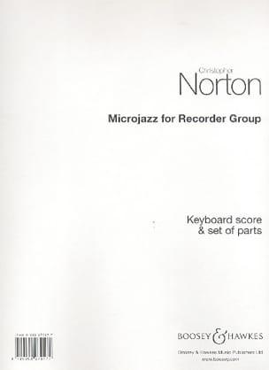 Microjazz For Recorder - Ensemble - laflutedepan.com