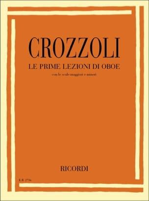 Sergio Crozzoli - The bonus lezzioni di oboe - Sheet Music - di-arezzo.com