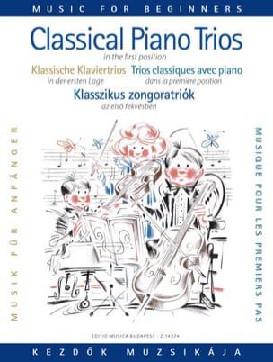 Classical Piano Trios for beginners laflutedepan