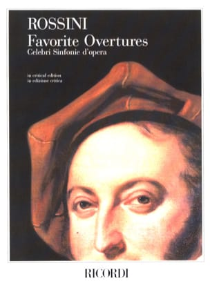 Favorite Overtures - Partitur ROSSINI Partition laflutedepan