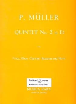 Quintet n° 2 in Eb – Parts - Peter Müller - laflutedepan.com