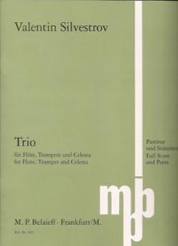 Trio -Partitur + Stimmen - Valentin Silvestrov - laflutedepan.com