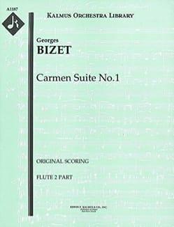 Carmen Suite N°1 BIZET Partition MATÉRIELS D'ORCHESTRE - laflutedepan