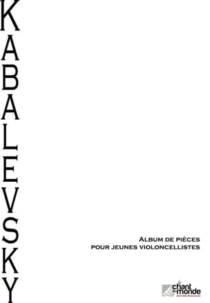 Dimitri Kabalevski - Album of pieces for young cellists - Sheet Music - di-arezzo.co.uk