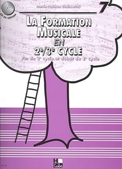 SICILIANO - La Formation Musicale en 2e/3e Cycle - Volume 7 - Partition - di-arezzo.fr