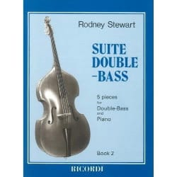 Rodney Stewart - Suite Double-Bass, Book 2 - 5 Pieces - Partition - di-arezzo.fr