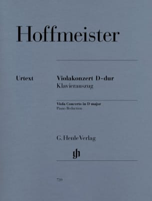 Franz Anton Hoffmeister - Violin Concerto in D Major - Sheet Music - di-arezzo.co.uk