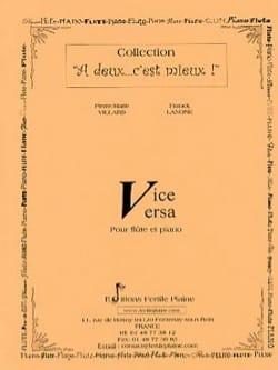 Vice Versa - Villard Pierre-Marie / Lanone Franck - laflutedepan.com