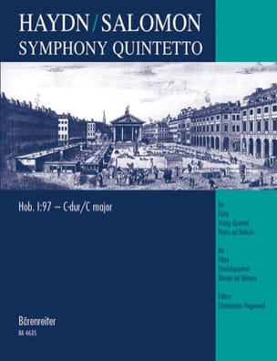 HAYDN - Symphony Quintetto Hob 1: 97 C-Dur - Partitur Stimmen - Sheet Music - di-arezzo.co.uk