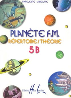Marguerite Labrousse - Planet FM 5B - Theory Directory - Sheet Music - di-arezzo.co.uk