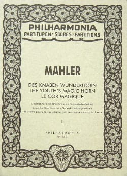 Gustav Mahler - Knoben Wunderhorn - Band 1 - Partitur - Sheet Music - di-arezzo.co.uk