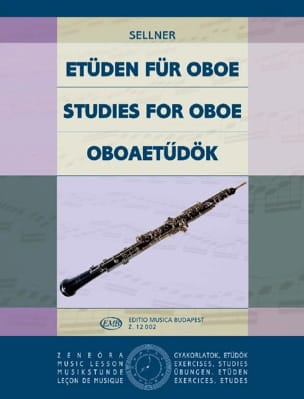 Joseph Sellner - Oboe Studies - Sheet Music - di-arezzo.co.uk