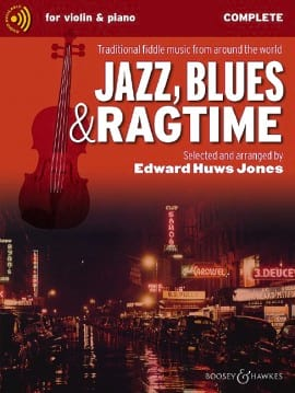Jones Edward Huws - Jazz Blues and Ragtime - Complete + CD - Partition - di-arezzo.fr