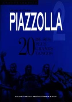 Astor Piazzolla - 20 de Ses Plus Grands Tangos Volume 2 - Partition - di-arezzo.fr