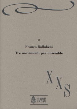 Tre movimenti per ensemble - Franco Ballabeni - laflutedepan.com