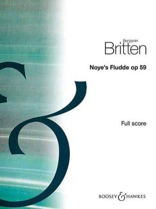 Noye's Fludde - BRITTEN - Partition - Grand format - laflutedepan.com