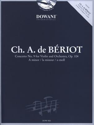 Charles A. (de) Bériot - Concerto Violon n° 9 op. 104 la mineur - Partition - di-arezzo.fr