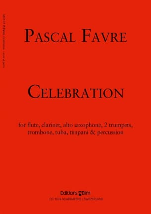 Celebration - Pascal Favre - Partition - laflutedepan.com