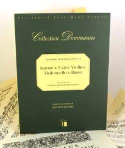 Sonate à 3 Cioè violino, violoncello e basso —Fac simile - laflutedepan.com