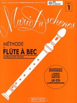 Mario Duschènes - Recorder method Volume 1 - soprano / tenor - Sheet Music - di-arezzo.co.uk