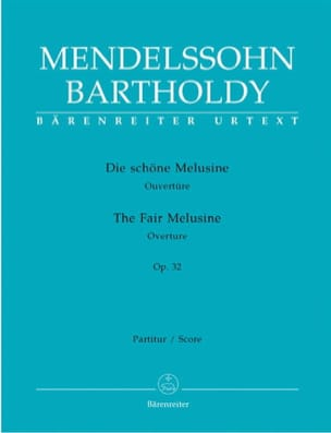 Ouvertüre Die schöne Melusine op. 32 - Partitur laflutedepan