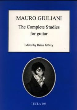 The Complete Studies For Guitar Mauro Giuliani Partition laflutedepan